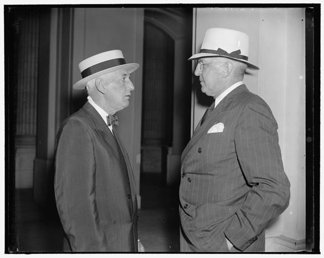 William J. Smith, President, Standard Oil Co., of Kentucky, & W.T. Holliday, President, Standard Oil of Ohio