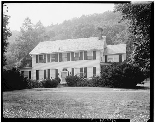 William Nyce House, U.S. Route 209, Egypt Mills, Pike County, PA