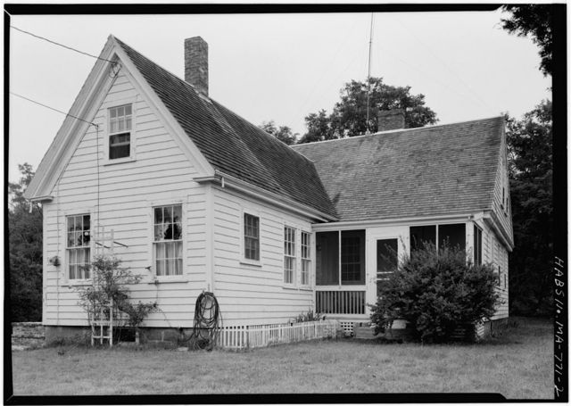 William P. Snow House, South Pamet Road, Truro, Barnstable County, MA