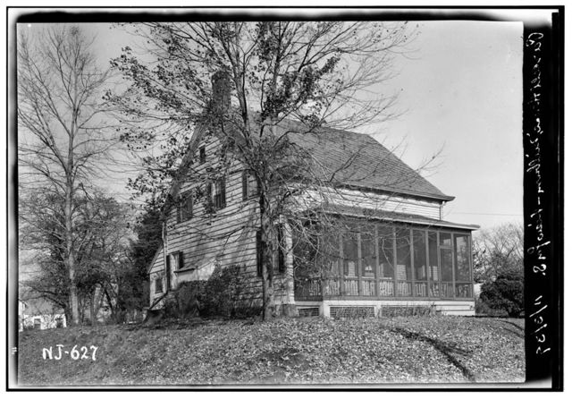 William Parsil Jr. House, Parsonage Hill & White Oak Ridge Roads, Millburn, Essex County, NJ