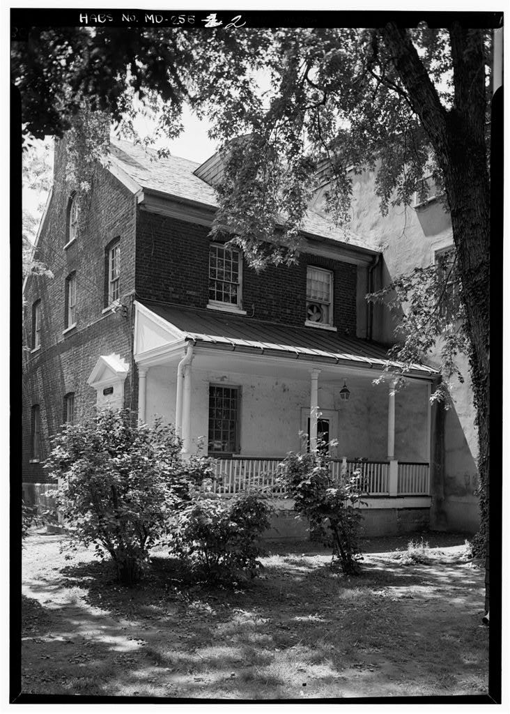 William Pinckney House, 164 Conduit Street (moved from Bladen Street), Annapolis, Anne Arundel County, MD