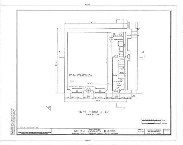 William Richards Building, Shenandoah Street, Harpers Ferry, Jefferson County, WV