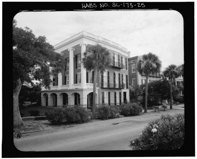 William Roper House, 9 East Battery Street, Charleston, Charleston County, SC