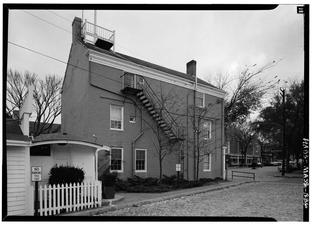 William Rotch Warehouse, Main & South Water Streets, Nantucket, Nantucket County, MA