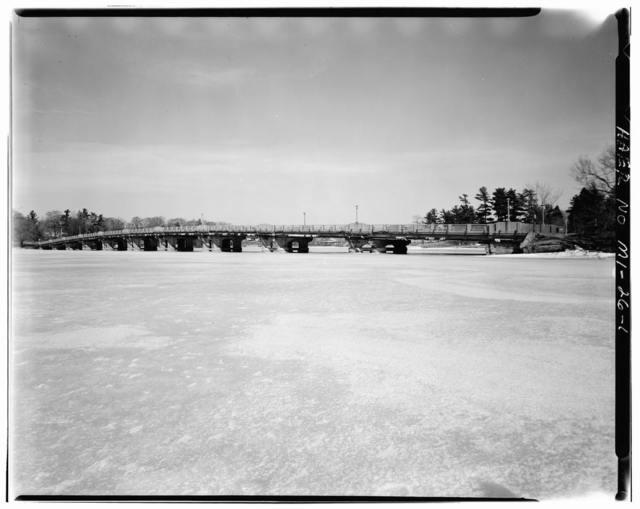 William S. Antisdale Memorial State Reward Bridge, Spanning Mona Lake at Henry Street, Norton Shores, Muskegon County, MI