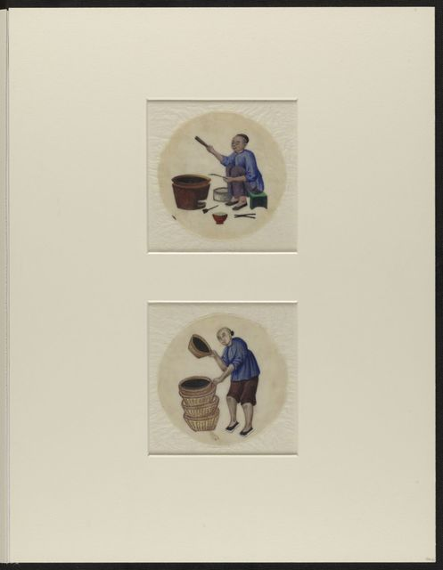 William Speiden journals: Illustrations removed from volume 1 and 2