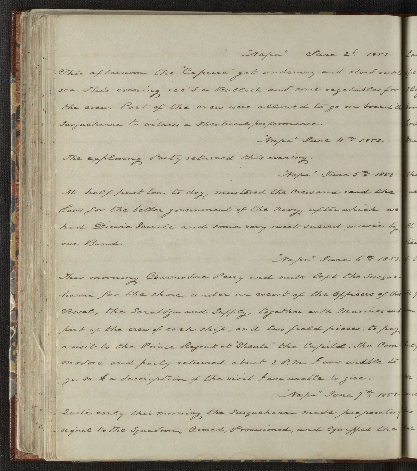 William Speiden journals: Vol. 1, Mar. 9, 1852-July 2, 1854 (includes newspaper clippings from 1901 and 1946)