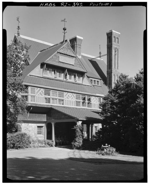 William Watts Sherman House, 2 Shepard Avenue, Newport, Newport County, RI
