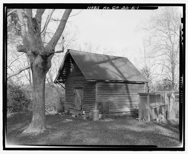 William Webb Farm, Smokehouse, State Highway 3/U.S. highway 19, Sumter, Sumter County, GA