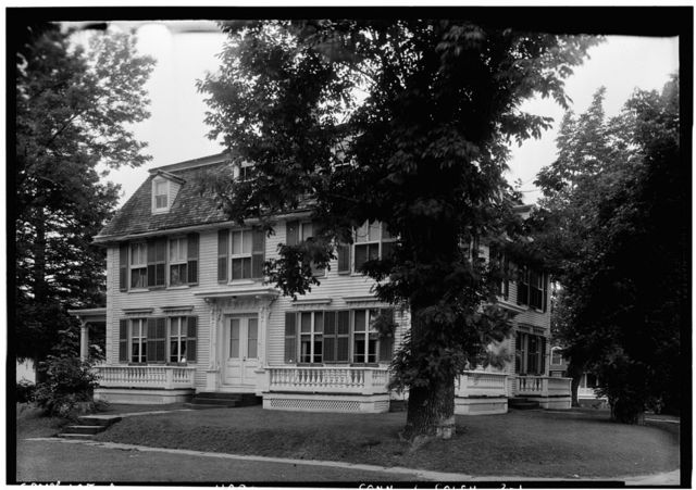 Williams House on Green, Colchester, New London County, CT