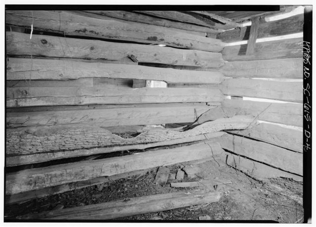 Williams Place, Double Log Barn, SC secondary Road 113, 3/4 mile North of SC secondary Road 235, Glenn Springs, Spartanburg County, SC