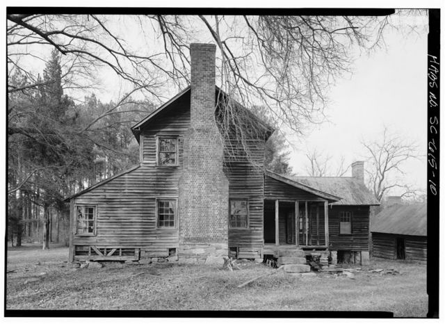 Williams Place, Main House, SC Secondary Road 113, .75 mile North of SC 235, Glenn Springs, Spartanburg County, SC