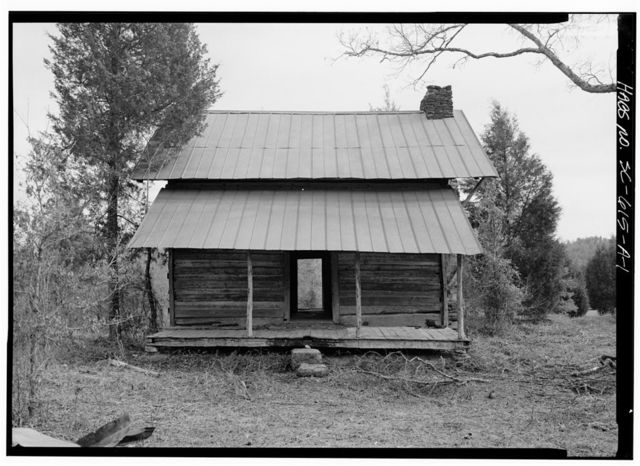 Williams Place, Tenant House, SC secondary Road 113, 3/4 mile North of SC secondary Road 235, Glenn Springs, Spartanburg County, SC