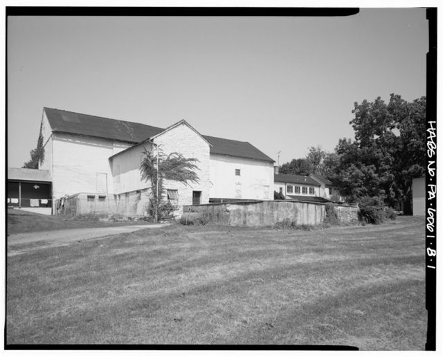 Willow Lake Farm, Barn, Butler Pike between Skippack Pike & Sycamore Lane, Broad Axe, Montgomery County, PA