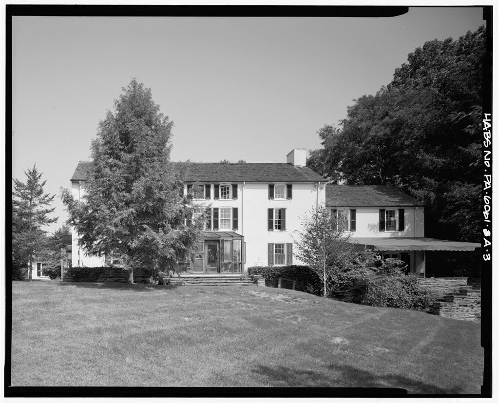 Willow Lake Farm, Main House, Butler Pike between Skippack Pike & Sycamore Lane, Broad Axe, Montgomery County, PA
