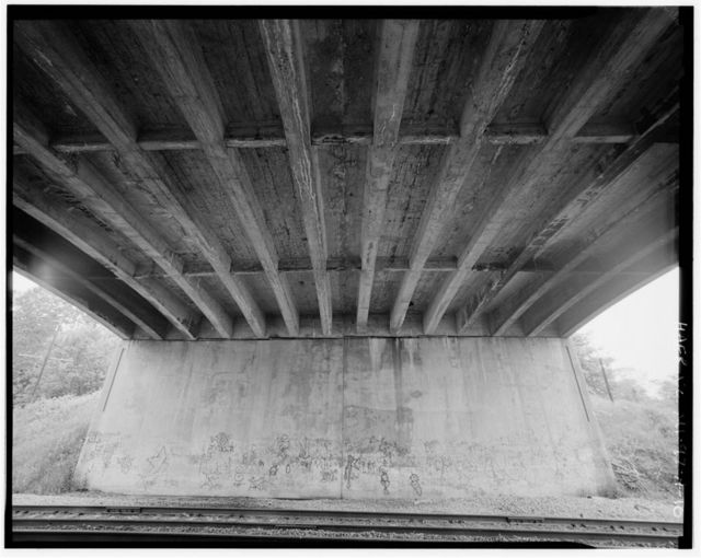 Willow Run Expressway Bridge No. R01, Spanning Conrail Railway, eastbound, at US-10, Ypsilanti, Washtenaw County, MI