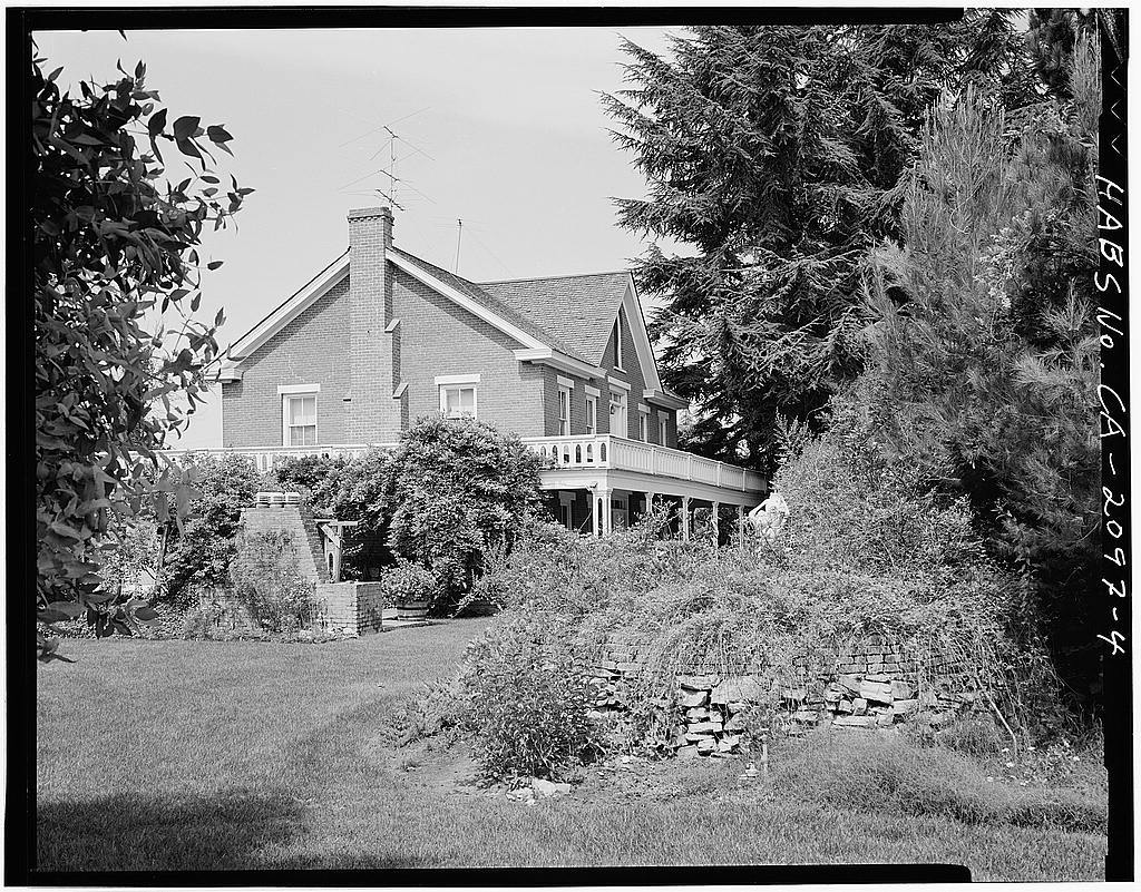 Willson House, 1980 Pacheco Road, Gilroy, Santa Clara County, CA