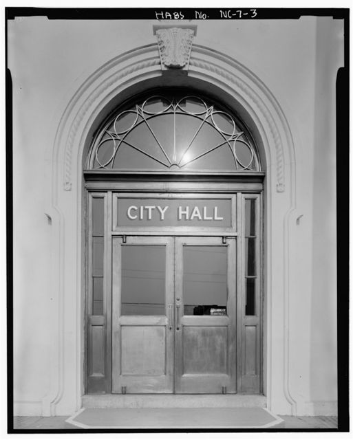 Wilmington City Hall-Thalian Hall, 102 North Third Street, Wilmington, New Hanover County, NC