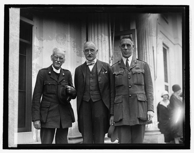 Wilson Carlile, Sir Esme Howard & Capt. B.F. Montford, 6/3/26