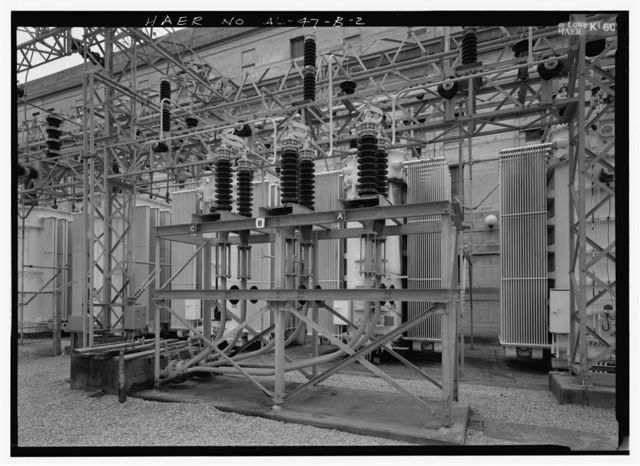 Wilson Dam & Hydroelectric Plant, Oilostatic Transmission System, Spanning Tennessee River at Wilson Dam Road (Route 133), Muscle Shoals, Colbert County, AL