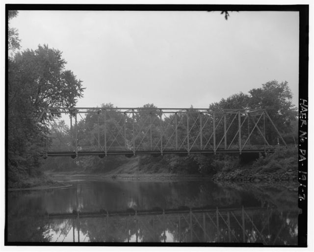 Wilson Shute Bridge, Spanning French Creek at State Road 2008 (formerly Legislative Route 20027), Meadville, Crawford County, PA