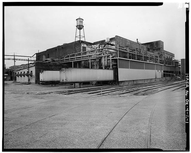 Wilson's Oil House, Lard Refinery, & Edible Fats Factory, Edible Fats Factory, 2801 Southwest Fifteenth Street, Oklahoma City, Oklahoma County, OK