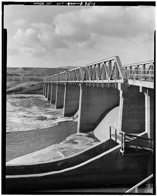 Wind River Diverson Dam Bridge, Spanning Wind River on County Road No. 24, Morton, Fremont County, WY