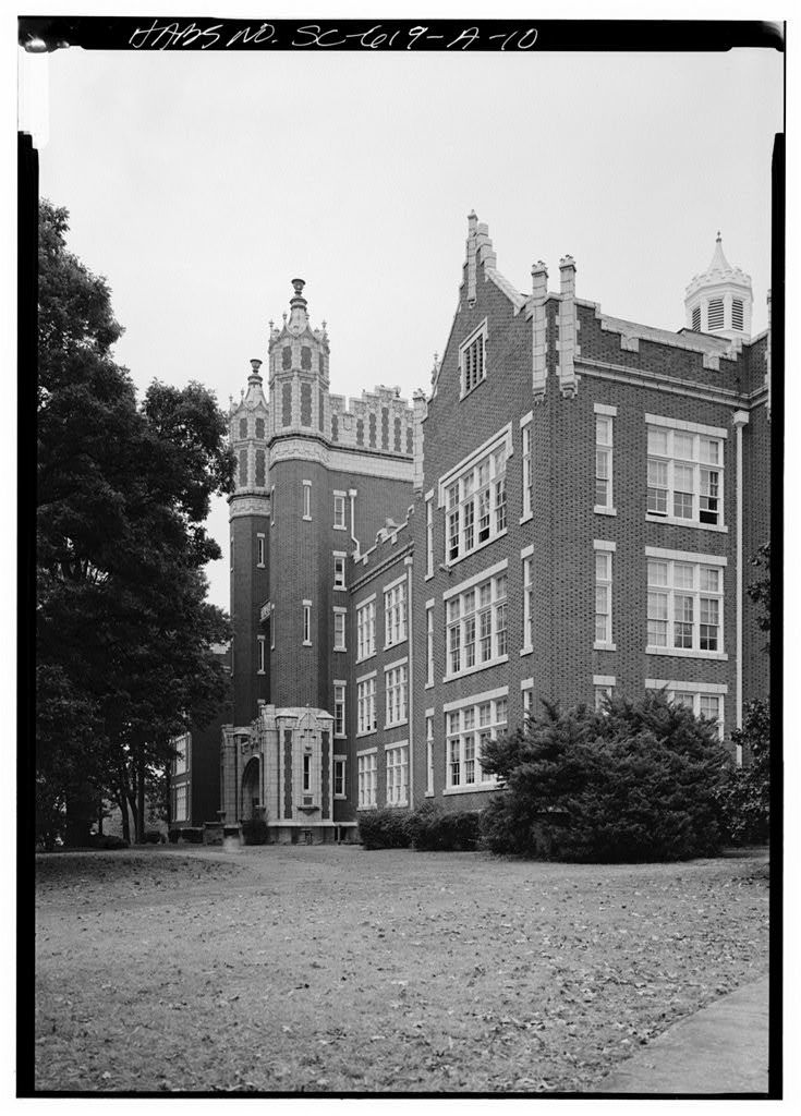 Winthrop College, Withers Building, Oakland Avenue, Rock Hill, York County, SC