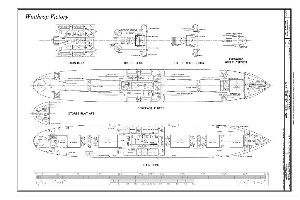 Winthrop Victory, Suisun Bay Reserve Fleet, Benicia, Solano County, CA