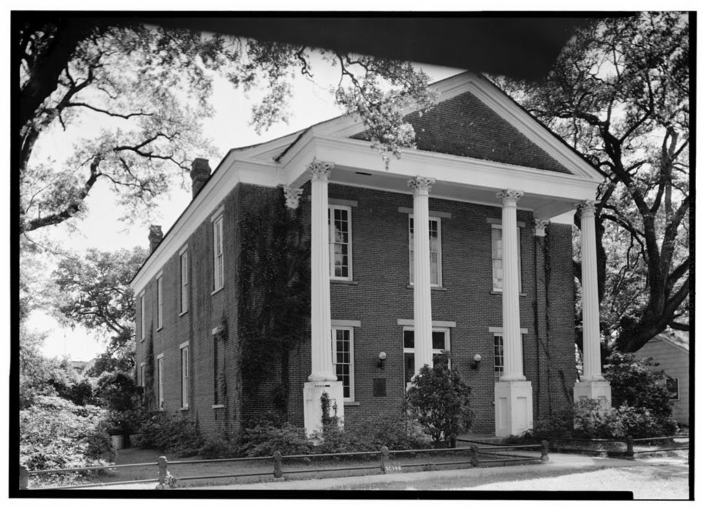Winyah Indigo Society Hall, Prince & Cannon Streets, Georgetown, Georgetown County, SC