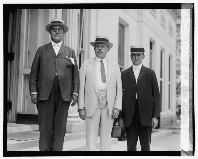 W.M. Clark, L.E. Sheppard, W.K. Doah[?], 8/15/23