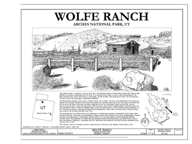 Wolfe Ranch, Moab, Grand County, UT