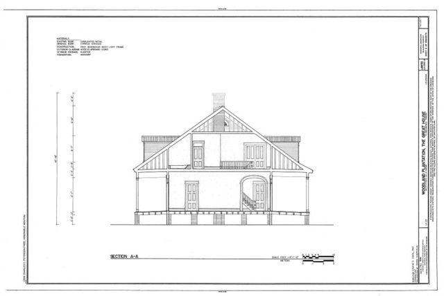 Woodland Plantation, Great House, State Route 23, West Pointe A La Hache, Plaquemines Parish, LA