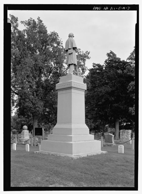 Woodlawn Cemetery, Mound City Soldiers Lot, North 5th Street & Elm Street, Mound City, Linn County, KS