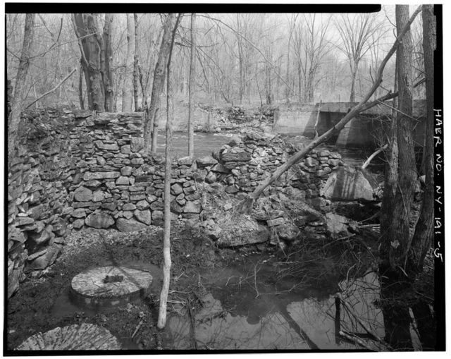 Wood's Grist Mill, South bank of Indian River, 1 mile east of Breached Mill Dam, Antwerp, Jefferson County, NY