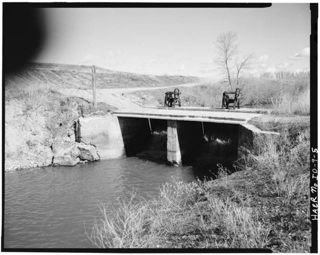 Woodville Canal Company, West side of Snake River (River Mile 796), Woodville, Bingham County, ID