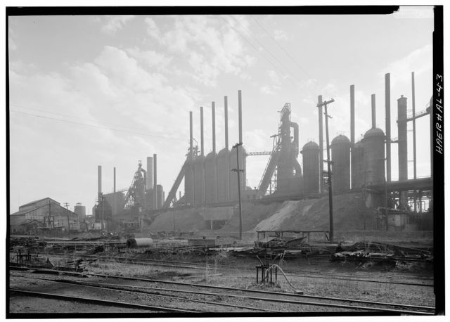 Woodward Coal & Iron Company Furnace, Opossum Creek vicinity, Woodward, Jefferson County, AL