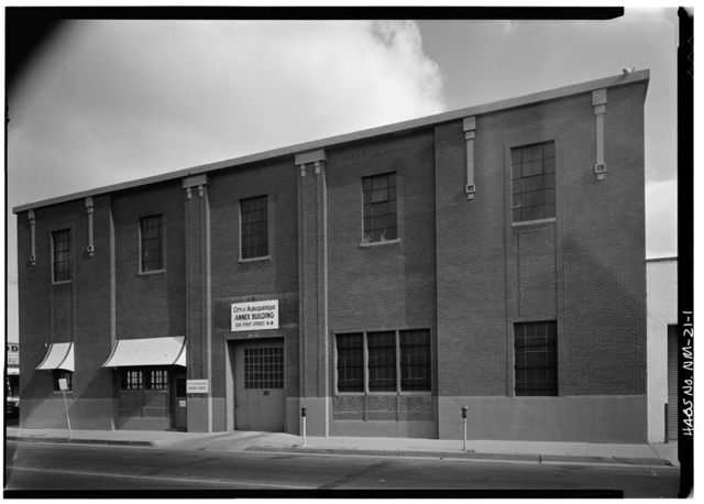 Wool Warehouse, 516-522 First Street Northwest, Albuquerque, Bernalillo County, NM