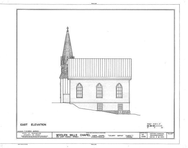 Woolen Mills Chapel, 1819 East Market Street, Charlottesville, Charlottesville, VA