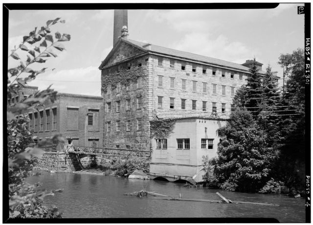Woonsocket Company, Number 2 Mill, 115 Front Street, Woonsocket, Providence County, RI