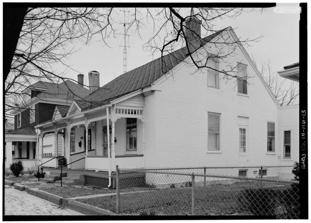 Workers' Cottages, Bound by South Second, Eleventh, A, & E Streets, Richmond, Wayne County, IN