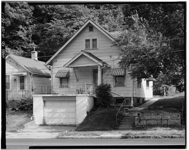 Workingmen's Houses, William P. Hipman House II, 816 Dodge Street, Dubuque, Dubuque County, IA