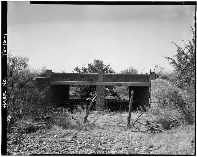Works Progress Administration Bridge No. 232, Elm Creek Road (Leaday-Hill Road), Voss, Coleman County, TX