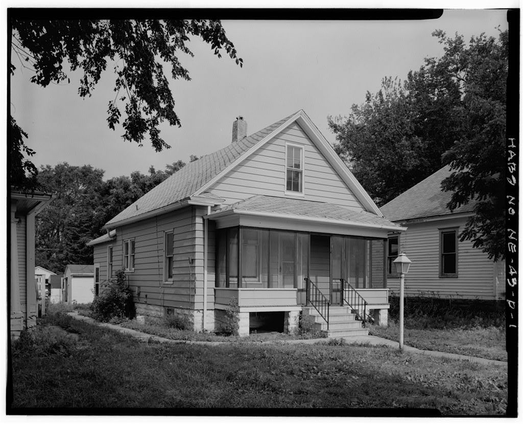 Worster-Gert House, 711 South First Street, Lincoln, Lancaster County, NE