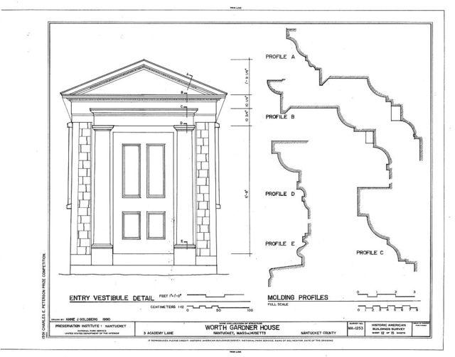 Worth-Gardner House, 3 Academy Lane, Nantucket, Nantucket County, MA