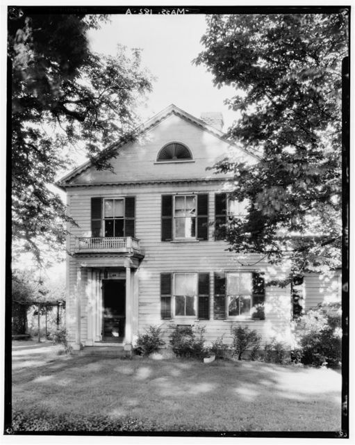 Wright House, 96 College Street, South Hadley, Hampshire County, MA
