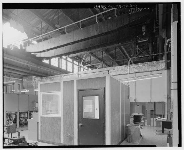 Wright-Patterson Air Force Base, Area B, Building 23, Static Test Laboratory No. 1, Southwest corner of Fifth & E Streets, Dayton, Montgomery County, OH