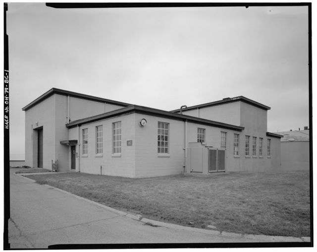 Wright-Patterson Air Force Base, Area B, Building 26, Supersonic Test Laboratory, Dayton, Montgomery County, OH