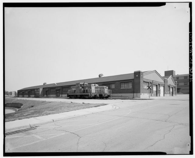 Wright-Patterson Air Force Base, Area B, Building 38, Maintenance Building No. 3, Dayton, Montgomery County, OH