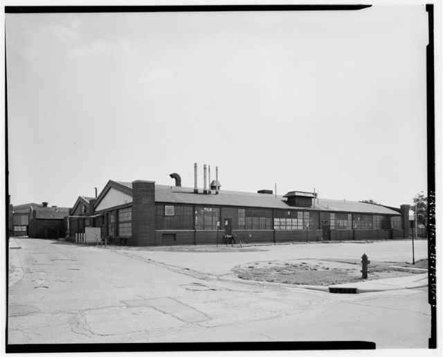Wright-Patterson Air Force Base, Area B, Building 51, Foundry-Garage, Dayton, Montgomery County, OH